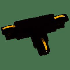 Maxlight Łącznik T prawy czarny