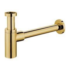 Omnires Syfon umywalkowy ozdobny złoty