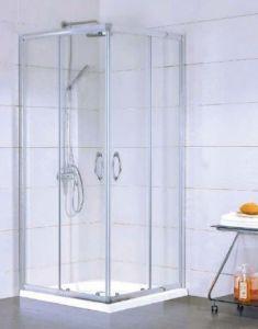 Kermi Acca Kabina kwadratowa 90x90 cm srebrny połysk