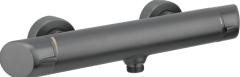Deante Arnika Bateria natryskowa ścienna Titanium