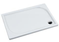 Schedpol Canes Brodzik prostokątny 90x120 cm wys.5 cm biały