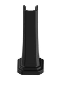 Roca Carmen Postument pod umywalkę kolor czarny polysk