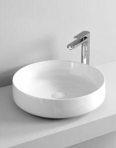 Art Ceram Cognac umywalka stawiana na blat 48X12.5 cm biała