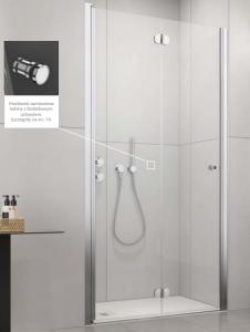 Radaway EOS DWB Drzwi prysznicowe 80cm lewe (79-81cm)