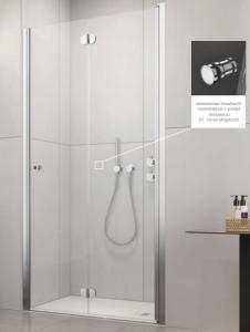 Radaway EOS DWB Drzwi prysznicowe 80 cm prawe (79-81cm)