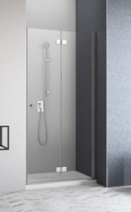 Radaway Essenza New DWB Drzwi do wnęki prawe 90 cm (88,7-90,5 cm) Chrom