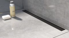 I-Drain Pro Plano Mat Ruszt 80 cm czarny mat