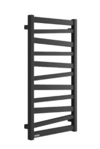 Excellent Italic Grzejnik łazienkowy 112,5x50 cm czarny mat