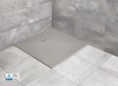 Radaway Kyntos C Brodzik kwadratowy 100x100 cm Cemento