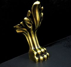 Melfen Nogi Lion stare złoto do wanien Pamela, Fortuna, Diana