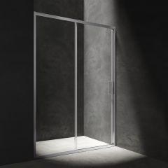 Omnires Manhattan Drzwi prysznicowe przesuwne 120 cm chrom