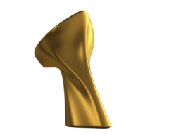 Melfen Nogi Grace do wanny Wiktoria kolor gold