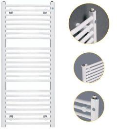 Instal Projekt Omega R Grzejnik łazienkowy biały z podłączeniem dolnym 700 x 1173 mm