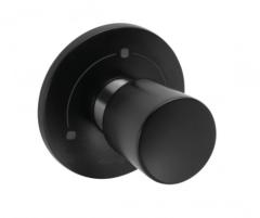 Kludi Balance Przełącznik podtynkowy 3-kierunkowy Czarny mat/Chrom