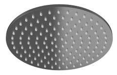 Kohlman Deszczownica okrągła 25 cm szczotkowany grafit