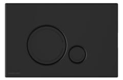 Excellent Ringo Przycisk spłukujący do WC Czarny soft