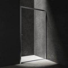 Omnires S Drzwi prysznicowe przesuwne 110 cm chrom