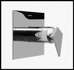 """GRAFF Stealth podtynkowy zawór termostatyczny 3/4"""" nikiel"""