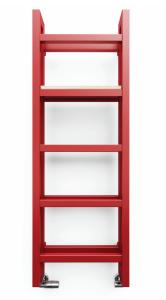 TermaTechnologie Stand Grzejnik drabinkowy 1380x400 mm czerwony