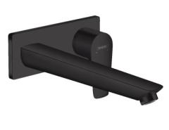 Hansgrohe Talis E Bateria umywalkowa podtynkowa wylew. 22,5 cm Czarna