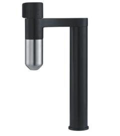 Franke Vital S Bateria kuchenna do filtrowania wody czarny/stal optyczna