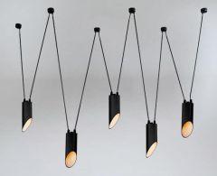 Dohar VIWIN Lampa wisząca mini czarna