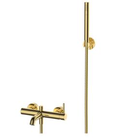 Omnires Y Bateria wannowo-natryskowa kolor złoty