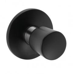 Kludi Balance Zawór podtynkowy Czarny mat/Chrom