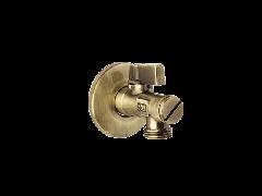 Zawór kątowy do WC w kolorze starego złota, Fromac 627-12.
